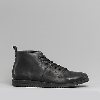 Blakeseys 1960 Unisex Leather Monkey Boots Black