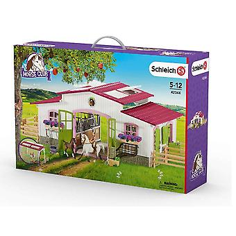 Schleich Horse Club Riding Centre with Rider and Horses (42344)