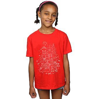 Star Wars Girls Empire Christmas T-Shirt