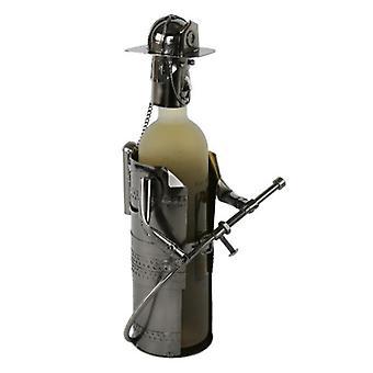 Wijnfleshouder Brandweerman
