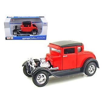 1929 Ford Modelo A Rojo 1/24 Diecast Modelo Coche por Maisto