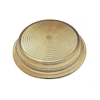 Culpitt ronde plastic cake stand-goud 355mm