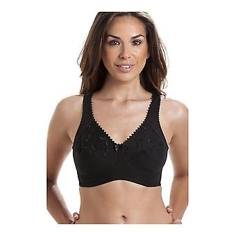 Royce Lingerie Black Supportive Soft Cup Non Wired Grace Bra