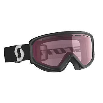 Scott Black Illuminator Fact Black Ski Mask