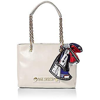 الحب موسكينو حقيبة صغيرة الحبوب بو حمل المرأة العاج (العاج) 25x33x12 سم (W x H x L)