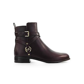 MICHAEL KORS PRESTON BURGUNDY FLAT RUMPE