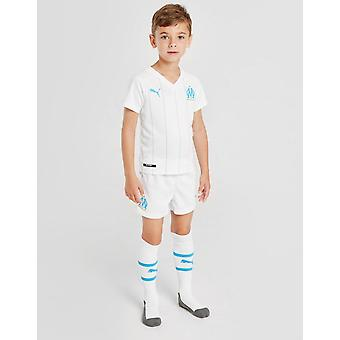 New Puma Kids' Olympique Marseille 2019/20 Home Kit White