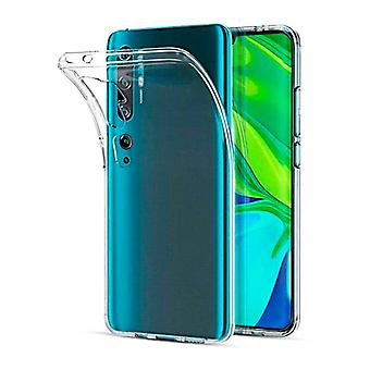 Ultra tynd Soft Shell TPU Xiaomi Mi Note 10/Note 10 Pro Gennemsigtig