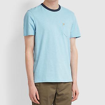 Farah Groove Pocket T-Shirt - Moonstone