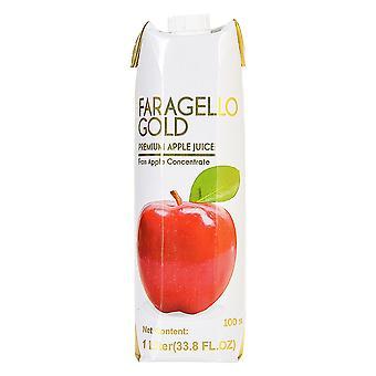 Faragello Gold Premium Eple Juice-( 1 Lt X 12 Flasker)