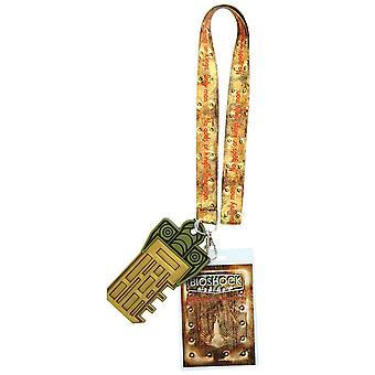 Šňůrka na krk - BioShock - Andrew Ryan Nové Licencované BSHL216