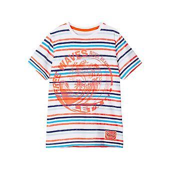 Name-it Boys Tshirt Fonzo Bright White / Neon