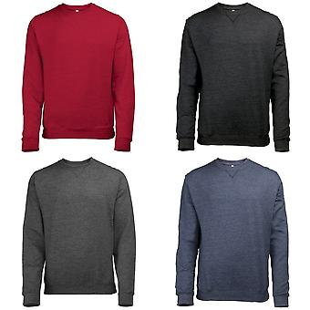 Awdis Mens Heather Lightweight Crew Neck Sweatshirt