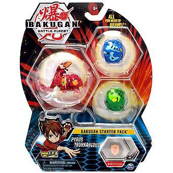 Bakugan Starter Pack Pyrus Trunkanious