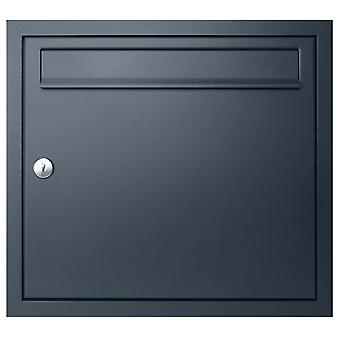 MOCAVI UP1 flush-mounted letterbox anthracite-grey RAL 7016