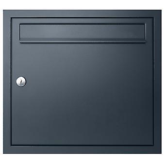 MOCAVI UP1 boîte aux lettres montée sur chasse d'eau anthracite-gris RAL 7016