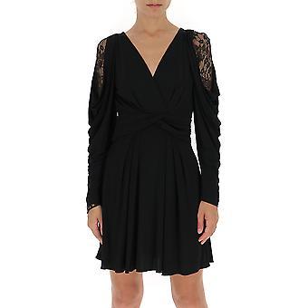 Alberta Ferretti 04536623a0555 Mujer's Vestido de Algodón Negro