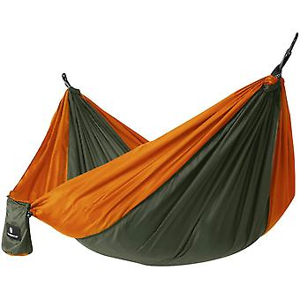 Nylon hammock 275 x 140 cm - lightweight with carrier bag