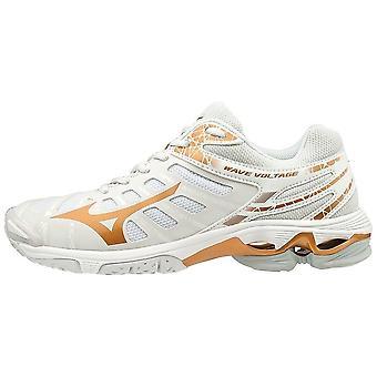 ミズノウェーブボルテージV1GC196052バレーボールオール年女性靴