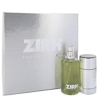 Zirh Gift Set przez Zirh International 4,2 uncji Eau De Parfum Spray + 2,6 uncji Dezodorant w sztyfcie