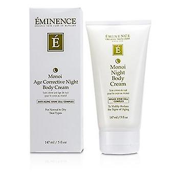 Eminence Monoi Age Corrective Night Body Cream - For Normal To Dry Skin - 147ml/5oz