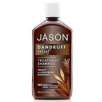 Shampooing naturel Jason, soulagement de pellicules, 12 oz