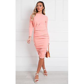 IKRUSH Womens Michelle Bodycon Midi Dress