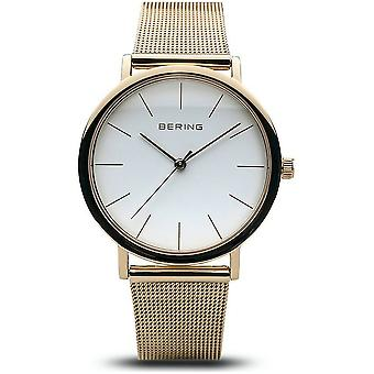 BERING - Armbanduhr - Damen - Classic - gold glänzend - 13436-334