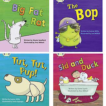 Learn to Read at Home with Phonics Bug - Pack 2 (Pack of 4 fiction boo