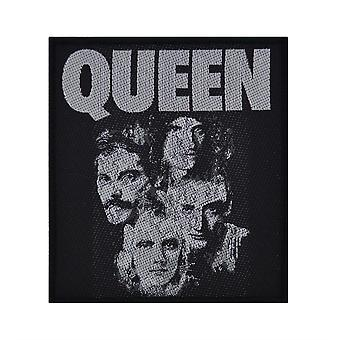Queen Faces Woven Patch