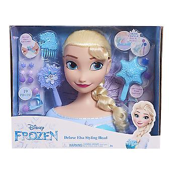 Disney Frozen Deluxe Elsa Styling Head 19PCs