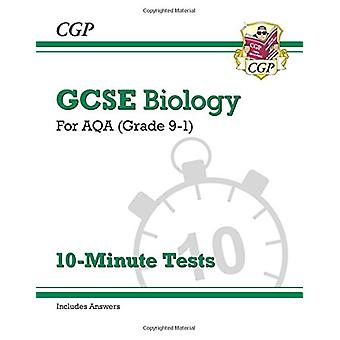 New Grade 9-1 GCSE Biology - AQA 10-Minute Tests (with answers) by CGP