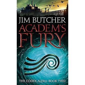 Academ's Fury by Jim Butcher - 9781841497457 Book