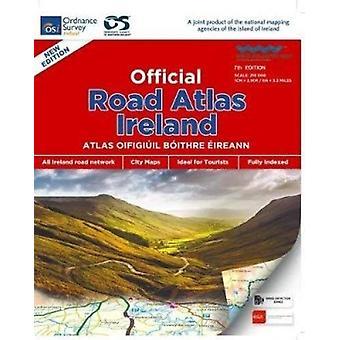 Official Road Atlas Irlanda - 9781908852830 Libro