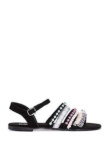MUK LUKS Women's Ariza Sandal-Black ZVG5i