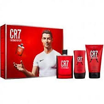 Cristiano Ronaldo CR7 Gift Set 100ml EDT + 75g Deodorant Stick + 100ml Aftershave Balm
