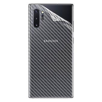 Back Film Protector Galaxy Note 10 Plus Latex Carbon Effect Anti-scratch iMak