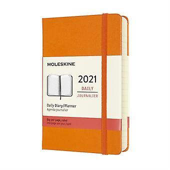 2021 12M Daily Ntbk Pock Cadmi Orange HD
