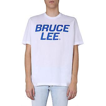 Dsquared2 S71gd0882s222427100 Miesten's Valkoinen Puuvilla T-paita