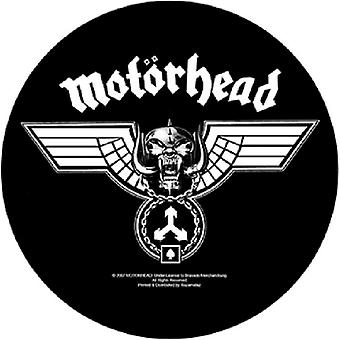 Motorhead Back Patch Hammered Tri Skull band logo new Official Circular 28.5 cm