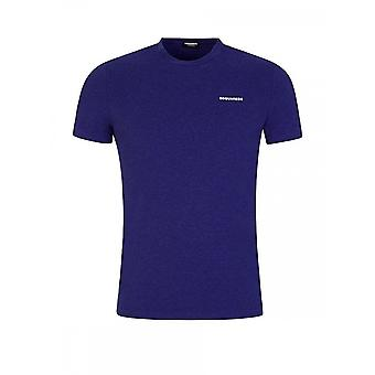 DSQUARED2 Simple Purple T-shirt