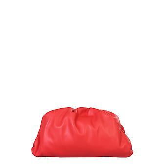 Bottega Veneta 576227vcp406402 Women's Red Leather Clutch