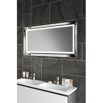 Espejo de audio ambiental con iluminación inferior, demister, afeitadora k508aud