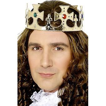 Royal Crown carnaval King kroon juwelen goud