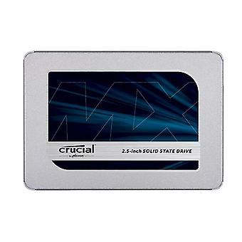 Crucial Mx500 2Tb 2 Calowy wewnętrzny dysk SATA SSD 560R 510W Mbs