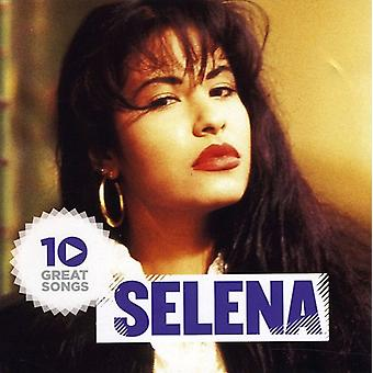 Selena - 10 Great Songs [CD] USA import