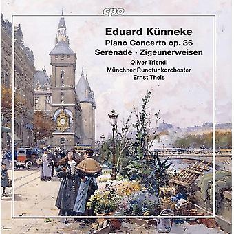 Kunneke / Triendl / Theis - Piano Concerto / Serenade / Zigeunerweisen [CD] USA import