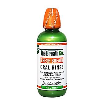 The Breath Co Oral Rinse Mild Mint | LifeandLooks.com