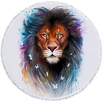 Upea leijona ranta pyyhe