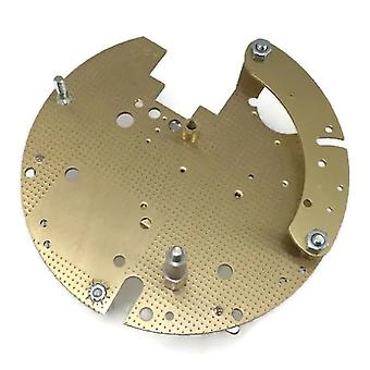 Hermle movement plate b001.00010 back plate for 130 series calibre movement